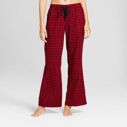 Gilligan & O'Malley Women's Pajama Pants Red Velvet Check Medium NWT Clothing, Shoes & Accessories