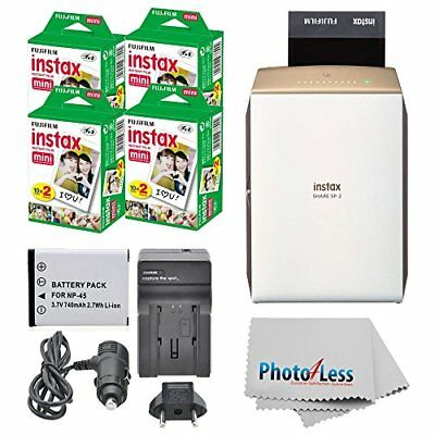 Fujifilm Instax Share Smartphone Printer SP-2 +80 Films +Extra Battery Top Value