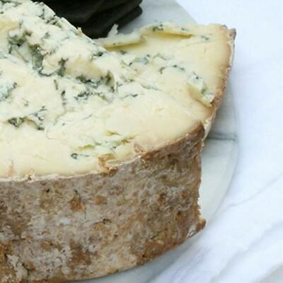igourmet English Blue Stilton Cheese DOP by Tuxford and Tebbutt - Pound Cut