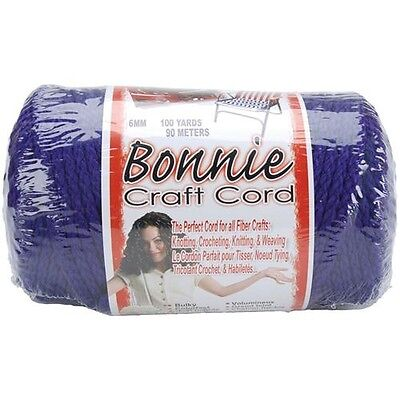Pepperell Bonnie Macrame Craft Cord 6mm 100 Yards - 257534