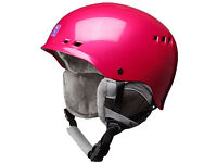 Women's Anon Wren Ski Helmet in rose pink, brand new and boxed