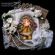 Magnolia Tilda Card