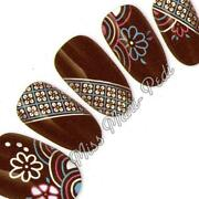 Patterned Nail Wraps