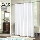 Unbranded White Shower Curtain Set Shower Curtains
