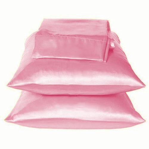 Pink Satin Pillowcase Ebay
