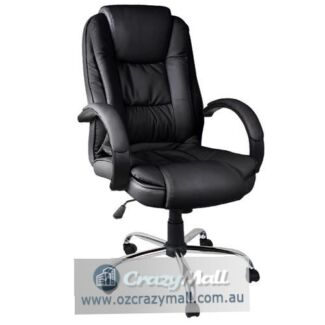 High Back Executive Premium PU Faux Leather Office Computer Chair