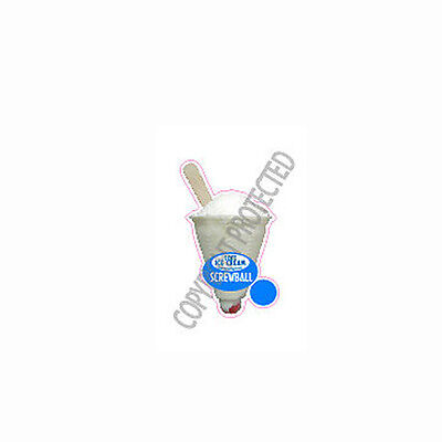 ice cream van sticker screwball scoop Die Cut