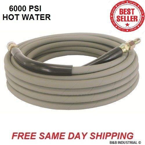 Non Marking Gray Pressure Washer Hose 50
