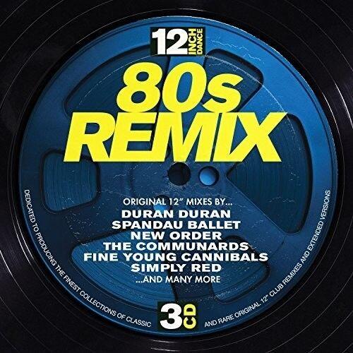 Various Artists - 12 Inch Dance: 80s Remix / Various [new Cd] Uk - Imp