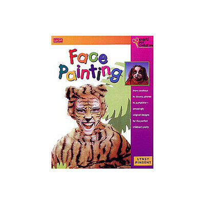 Face Painting Book- 33 Pages of Full Color Ideas and Instructions NEW - Ideas Of Face Painting