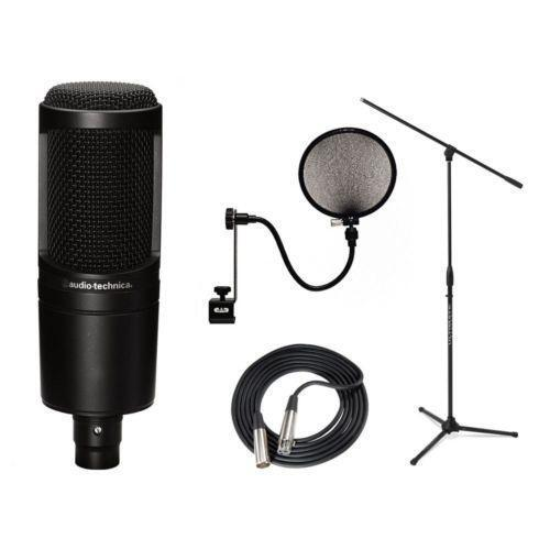 audio technica at2020 ebay. Black Bedroom Furniture Sets. Home Design Ideas