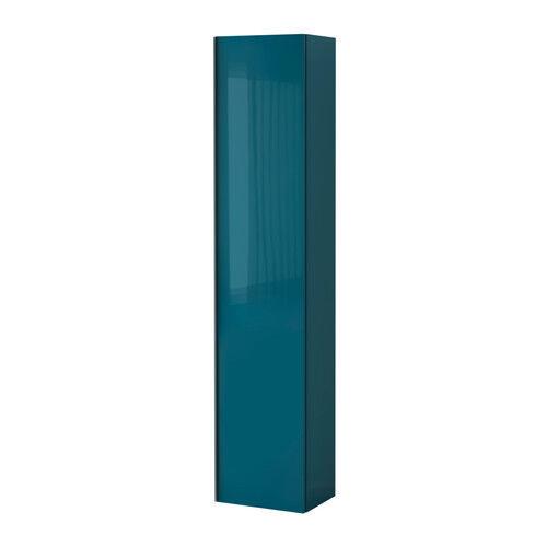 Brand New Ikea GODMORGON High cabinet, high-gloss Blue | in ...