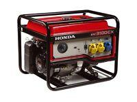 Brand New, Never Used - Honda EM3100 Generator