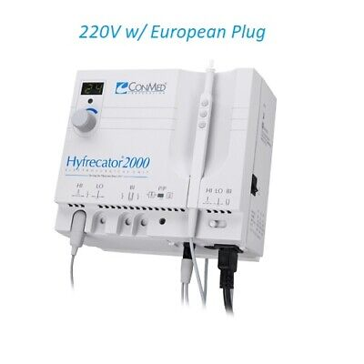 Conmed Hyfrecator 2000 Electrosurgical Unit 7-900-220 Dessicator New 220v