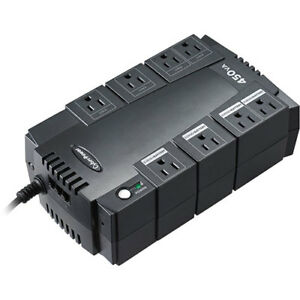 CyberPower SE450G-FC 8-Outlet 260W UPS Surge Protector
