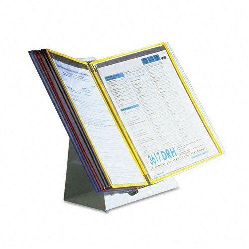 Tarifold Desktop Organizer Starter Set - 10 Panels - 20 Sheet[s]/panel - 1 Each