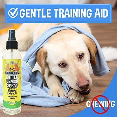 ORIGINAL Stop Biting And Chewing For Puppies Older Dogs&Cats Bitter Lemon Spray