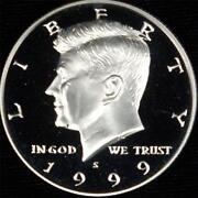 1999 Silver Proof Kennedy