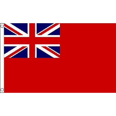 Red Ensign Small Flag 3Ft X 2Ft British Merchant Navy Naval Banner New