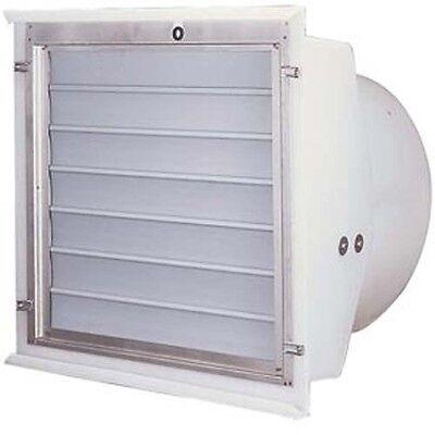 12 Exhaust Fan - Plastic Flush Mount - 14 Hp - 1.995 Amps - 1300 Cfm