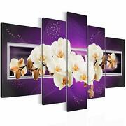Leinwand Bilder Blumen Lila