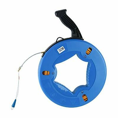 Fish Tape Fiberglass Wire Cable Electric Running Rod Duct Rodder Fishing Tools