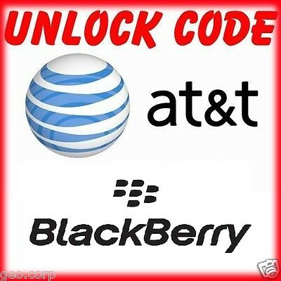AT&T BLACKBERRY FACTORY UNLOCK CODE SERVICE Q5 Z10 Q10 Z3 Z3 Q5 9790 9720  ALL  for sale  Shipping to South Africa