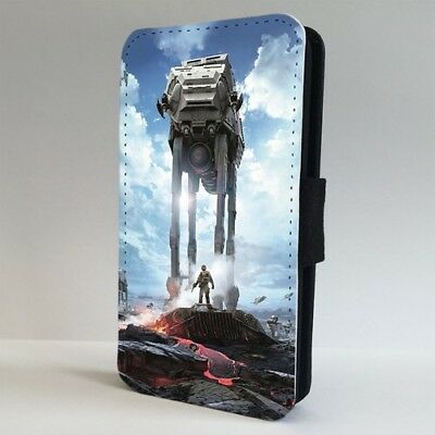 Star Wars Space Battle AT Walker FLIP PHONE CASE COVER for IPHONE SAMSUNG