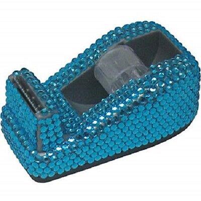 Hype Jewel Tape Dispenser Blue Bling Brand New In Box Nib