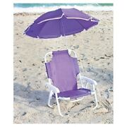 Purple Camping Chair