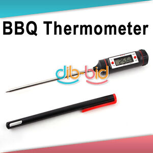 Digital Probe Meat Thermometer Kitchen Cooking BBQ 03