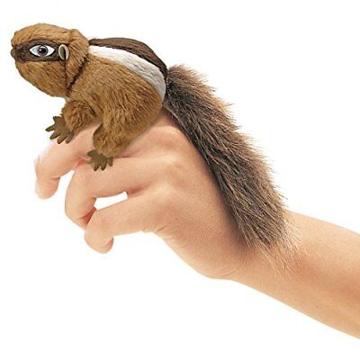 Mini Chipmunk Finger Puppet (Folkmanis Mini Chipmunk Finger)