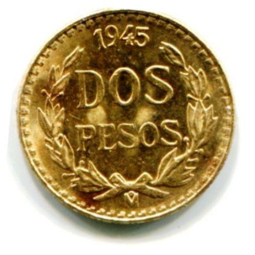 Dos Pesos Gold Coin Ebay