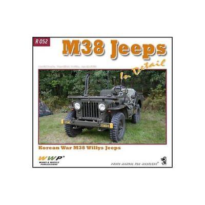 M38 Jeeps in Detail RED N°52  by Frantisek Koran Willys Jeep Korean War