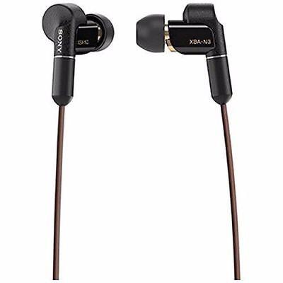 Sony XBA-N3 HD Hybrid In-Ear Headphones NEW from Japan F/S