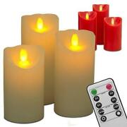 LED Kerzen Rot