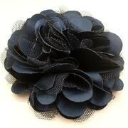 Navy Blue Brooch