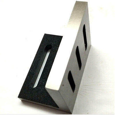 Slotted Angle Plate Cast Iron Machine 110 X 89 X 75 Mm Precision Ground Open End