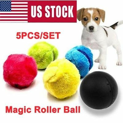 Automatic Magic Roller Ball Toy Roller Ball Magic Ball Pet Dog Cat Electric Toy