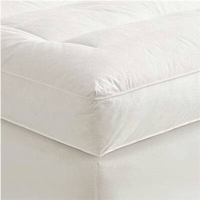 """4"""" Queen Goose Down Mattress Topper Featherbed / Feather Bed Baffled"""