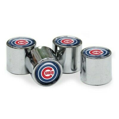 Chicago Cubs Mlb Set - Brand New MLB  Chicago Cubs Wincraft  Car Tire Valve Stem Covers Set Of 4