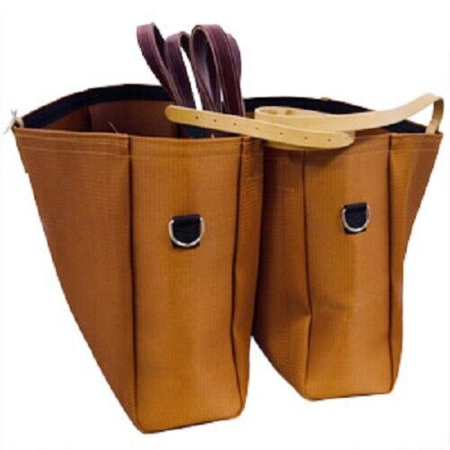 Horse and Mule Packing and Camping Equipment Bear cloth Panniers