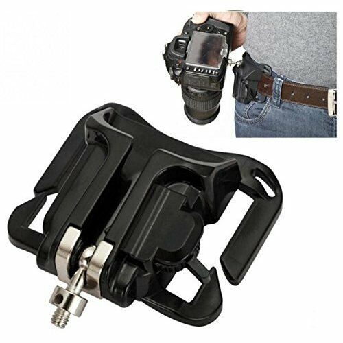 Dslr Slr Camera Belt Clip System Holster For Dslr Slr Cameras Canon Nikon Sony