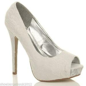 Lace Wedding Shoes | eBay