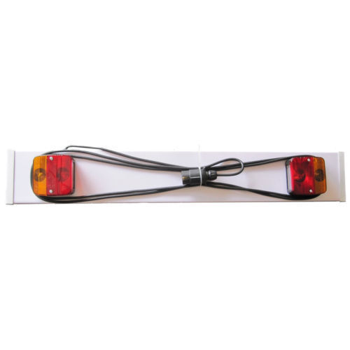 3FT Trailer Board Light Lighting 3M Cable trailers Towing Caravan Horse Box Rear