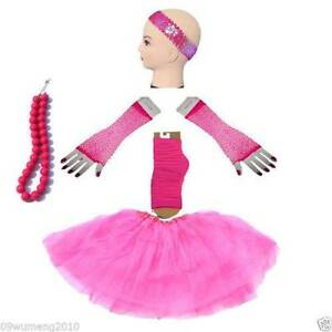 Hotpink 5 Layer TUTU Skirt Gloves Socks S(year2-10)/L(year10-adul Homebush West Strathfield Area Preview