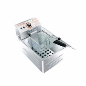 Stainless Steel Commercial Single Tank Electric Deep Fat Chip Fryer Basket