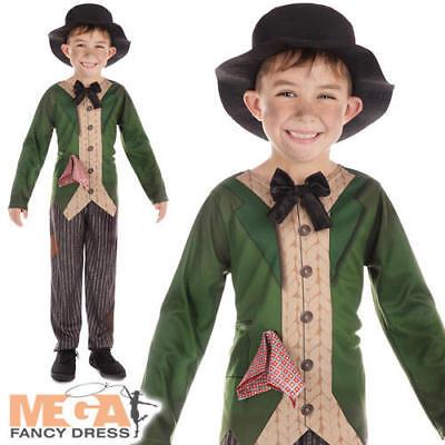Dickensian Boys Fancy Dress Artful Dodger Dickens Kids World Book Day Costume (Artful Dodger Fancy Dress Kostüm)