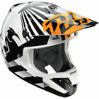 Thor Orange Full Face Helmets