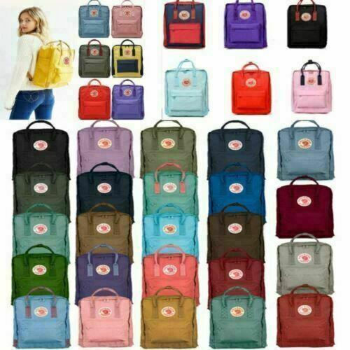 Fjällräven Kanken Original Rucksack Schule Sport Freizeit Tasche Backpack 23510